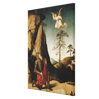 Gideon and the Fleece, c.1490 Canvas Print