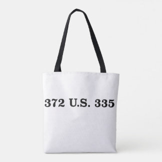 Gideon v. Wainwright Tote Bag