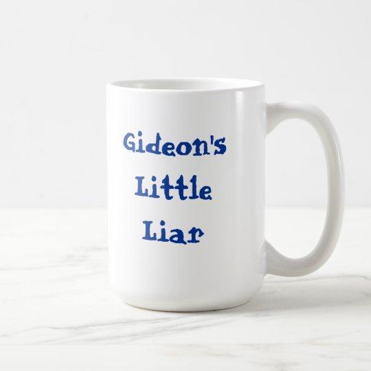 Gideon's Little Liar. Coffee Mug