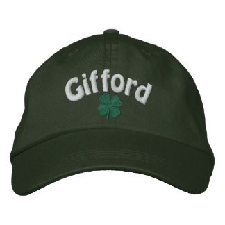 Gifford - Four Leaf Clover - Customized Embroidered Hat
