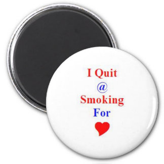 Gift Award for Stop or Quit Smoking 6 Cm Round Magnet