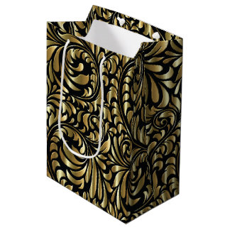 Gift Bag - Drama in Black and Gold