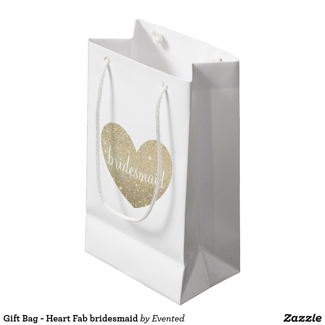 Gift Bag - Heart Fab bridesmaid
