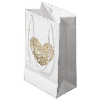 Gift Bag - Heart Fab bridesmaid