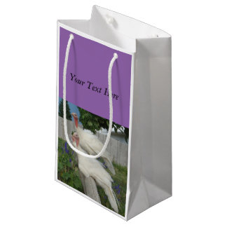 Gift Bag - Midget White Turkeys