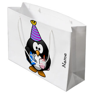 Gift Bag. Penguin. Large Gift Bag