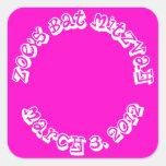 Gift Bag Stickers Bat Mitzvah Birthday Party