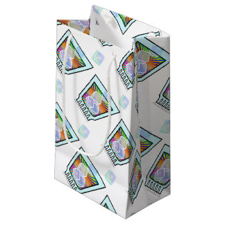 GIFT BAGS - PSYCHEDELIC COCKTAIL DESIGN SMALL GIFT BAG