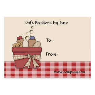 Gift Basket Tag Business Card