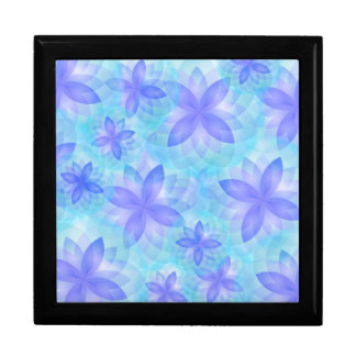 Gift Box abstract lotus flower