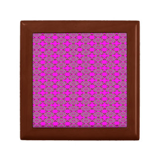 Gift Box - Floral Style outlines, pink background
