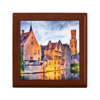 Gift Box, Golden Oak Bruges Gift Box