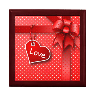 Gift Box love's present background