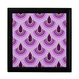 Gift Box seamless retro pattern