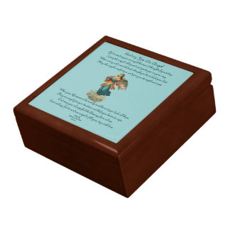 Gift Box With Angel Poem