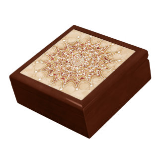 Gift Box with Beautiful Mandala Design