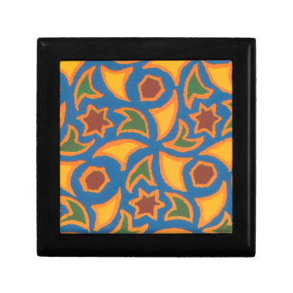 Gift Box with Colourful Ethnic Pattern
