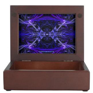 gift box with Mandela style design