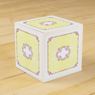 Gift Box Yellow Party Favour Boxes
