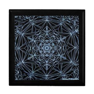 Gift boxe star abstract mandala gift box