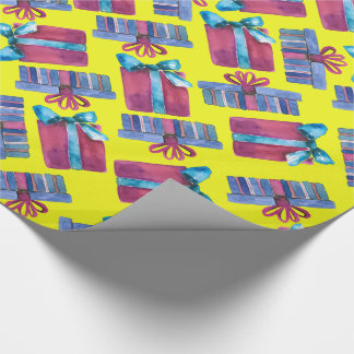 Gift Boxes Wrapping Paper