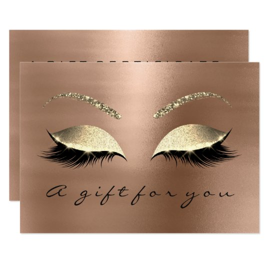 Gift Certificate Skinn Lux Gold Lash Beauty Studio