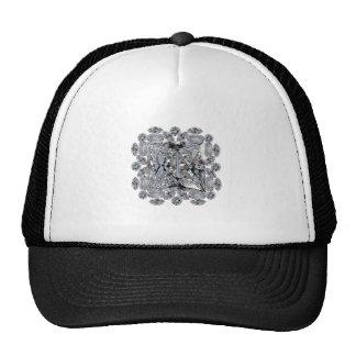 Gift Diamond Brooch Cap