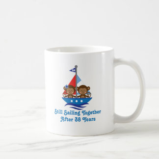 Gift For 38th Wedding Anniversary Hoot Basic White Mug