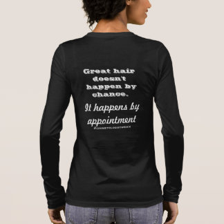 Gift for a hairdresser long sleeve T-Shirt