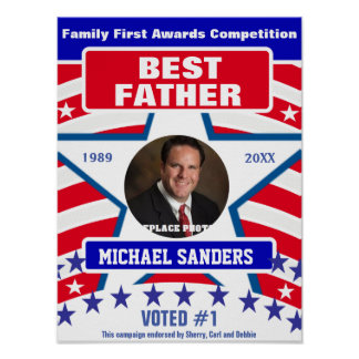 Gift for Fathers | Best Father Poster