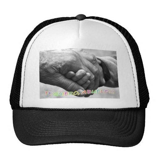"""Gift for grandfathers, """"I love grandfathers to You Trucker Hat"""