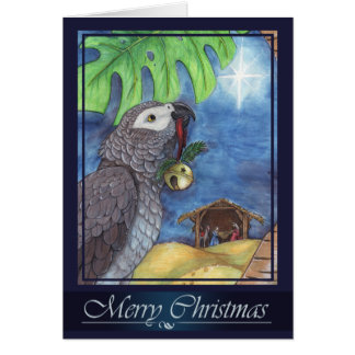 Gift for My King Christmas Card