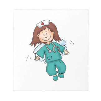 Gift for Nurses - Personalize with your name Notepad
