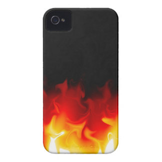 Gift from Hell in fire iPhone 4 Cover