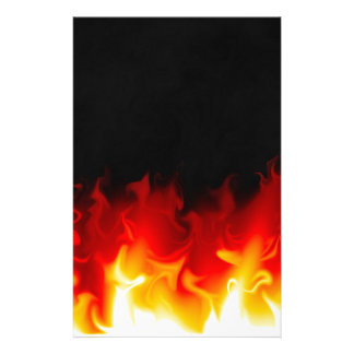 Gift from Hell in fire Stationery