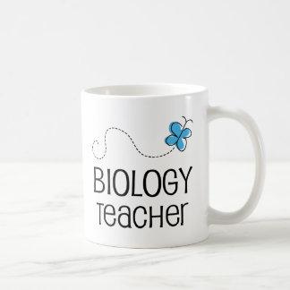 Gift Idea For Biology Teacher (Butterfly) Basic White Mug