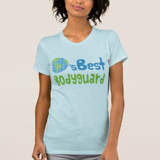 Gift Idea For Bodyguard (Worlds Best) Tshirt