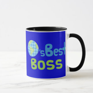 Gift Idea For Boss (Worlds Best) Mug