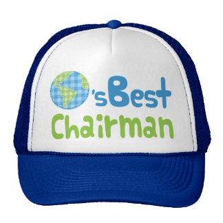 Gift Idea For Chairman (Worlds Best) Cap