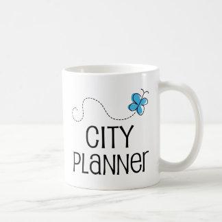Gift Idea For City Planner (Butterfly) Basic White Mug