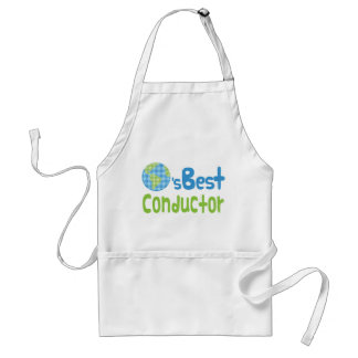 Gift Idea For Conductor (Worlds Best) Standard Apron