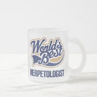 Gift Idea For Herpetologist (Worlds Best) Coffee Mug
