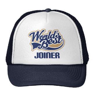 Gift Idea For Joiner (Worlds Best) Cap