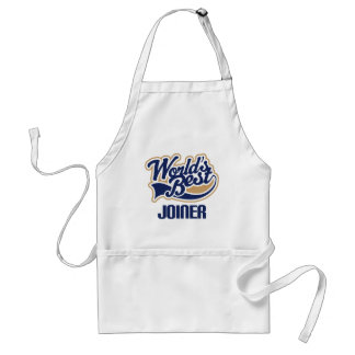 Gift Idea For Joiner (Worlds Best) Standard Apron