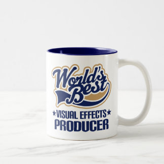Gift Idea For Visual Effects Producer (Worlds Best Two-Tone Coffee Mug