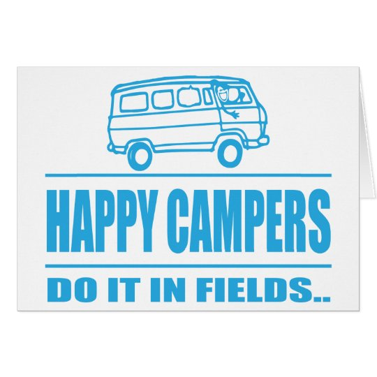 Gift Items For The Happy Inspired Camper Card