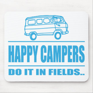 Gift Items For The Happy Inspired Camper Mouse Pad