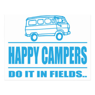 Gift Items For The Happy Inspired Camper Postcard