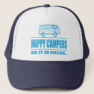 Gift Items For The Happy Inspired Camper Trucker Hat