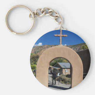 Gift Items New Mexico Basic Round Button Key Ring
